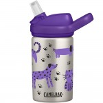 Butelka CamelBak Eddy+ Kids stalowa 0.4L Cats and Dogs