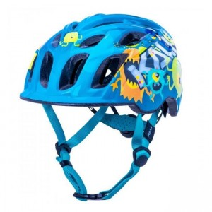 Kask dla dziecka KALI Chakra Child Monsters Blue XS 44-50 cm