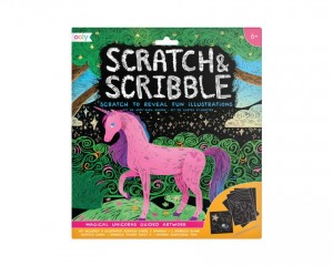 Zdrapywanki Ooly Scratch and Scribble Magic Unicorns Magiczne Jednorożce