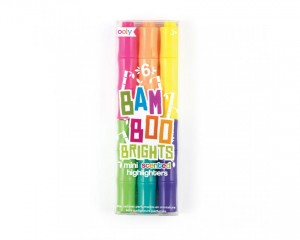 Pachnące Mini Flamastry Bambusy Ooly Bamboo Brights zestaw 3 szt.