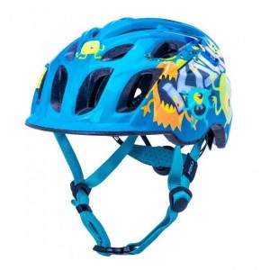 Kask dla dziecka KALI Chakra Child Monsters Blue S 48-54 cm