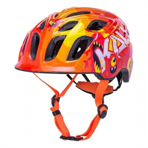 Kask dla dziecka KALI Chakra Child Monsters Orange S 48-54 cm