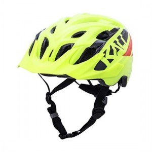 Kask rowerowy Kali Chakra Youth Yellow One Size 52-57 cm