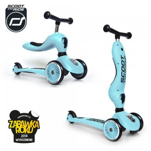 Scoot and Ride Highwaykick 1 Hulajnoga i Jeździk 2w1 Blueberry 1-5 lat